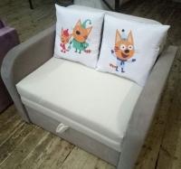 Юниор Арт 80 котики детский диван, детское кресло Им