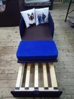 Диван Юниор Арт 70 с тонкими боковинами и регулируемым спальным местом Им