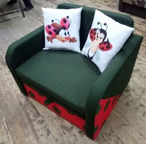 Детский диван, кровать, кресло Юниор Солнышко 80 Им