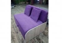 Детский диван, кровать Юниор 110 ДСП с низкими боковинамиИм