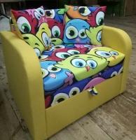Детский диван, кресло, кровать Пуговка 80 Им