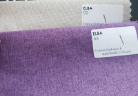 Рогожка Ельба (меблевий льон) на фліс основі