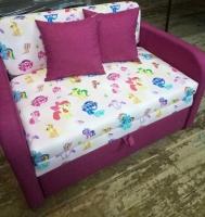 Детский диван, кровать Юниор Пони 110 Им