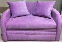 Детский диван, кровать Юниор 110 velvet Им