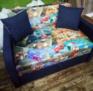 Детский диван, кровать Юниор Car 110 Им