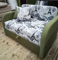Детский диван, кровать Юниор (Эрнесто, Джек, Феликс) принт 110 Им