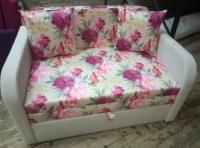 Детский диван, кровать Юниор 110 цветы Им