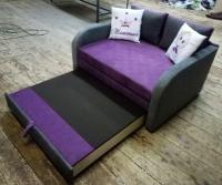 Выкатной усиленный диван Вивьен Арт 130 Им