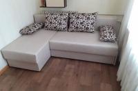 Кутовий диван - кровать з взаємно замінним кутом  Деним (Denim) PMK