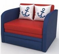 Детский диван, кровать, кресло Юниор однотонный 80 Им