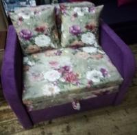 Детский диван, кровать, кресло Фиона 80 flowers (Юниор) Им