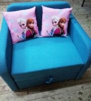 Детский диван, кровать, кресло Юниор Арт Холодное сердце 80 Им