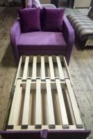 Детский диван, диван кресло Юниор 70 Velvet Им