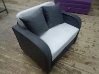 Детский диван, кровать, кресло Юниор Grаy 80 Им