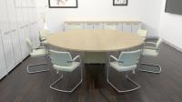Париж круглый стол для совещаний