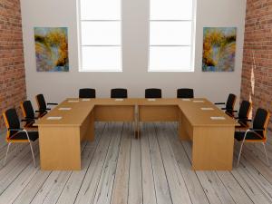 Кабинет для совещаний на 10 мест