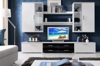 Мари.Мебельная стенка в гостинную или кабинет руководителя