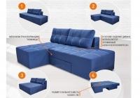 Угловой поворотный диван трансформер Бонд Акция! KMZ
