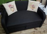Детский диван, кровать, кресло Юниор Арт Совушки 110 Им